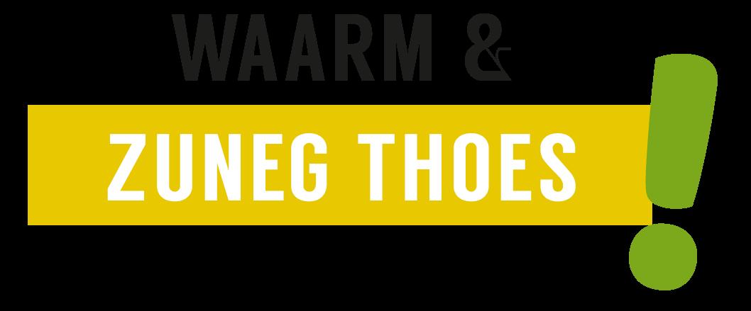 Waarm en zuneg thoes logo